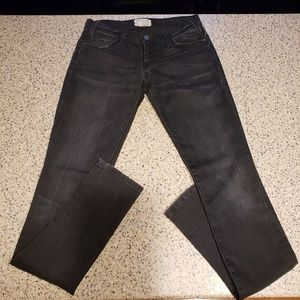 Current Elliot SZ 26 Black Jeans